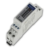 AC meter for DIN carrier rail 1-phase 5A |  analogous to RZW