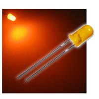 "10 LED 5mm diffused amber ""WTN-5-1800o"""