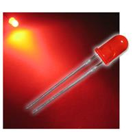 "10 LED 5mm diffused red ""WTN-5-3200r"""