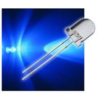 """10 LED 8mm wasserklar blau Typ """"WTN-8-8000b"""""""