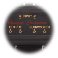 Subwooferweiche, 150 Hz, 12dB, 2-/3-Wege