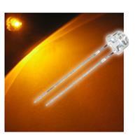 "10 LED 4,8mm gelb Flachkopf Typ ""WTN-48-1000ge"""