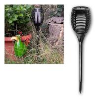 LED solar garden light FLAME | flickering effect | IP44