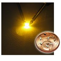 "10 SMD LEDs 0603 - yellow ""WTN-0603-120ge"""