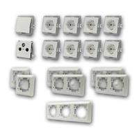 CUP Set working room | 17 pieces, white | TV dose