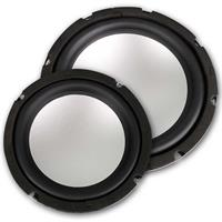 Subwoofer Rockwood, 165/200mm, 4Ohm, Alu-Menbrane