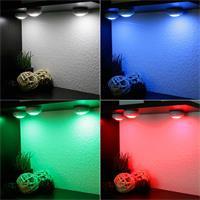 dimmbare LED Unterbauleuchte CT Corro RGB, verschiedenen Leuchtfarben