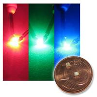 10 SMD LED RGB full color three chip