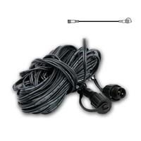 System Decor extension wire extra 10m black