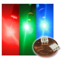 10 SMD LED 5050 RGB 3-Chip with 3 colors