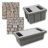 LED solar lamp paving stone | LED cobblestone hardwearing