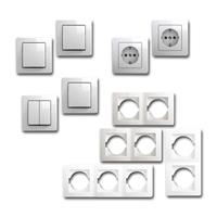 EKONOMIK Set hallway with button | 10 pieces, white