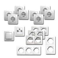EKONOMIK Set working room | 15 pieces, white