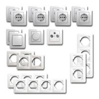 EKONOMIK Set living landscape dimmer | 18 pieces, white
