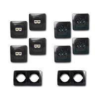 EKONOMIK Set Multimedia | 10 pieces, anthracite