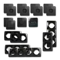 EKONOMIK Set living landscape dimmer | 18 pieces, anthracite