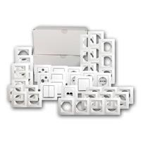 EKONOMIK set family house 86 pieces | white, complete set