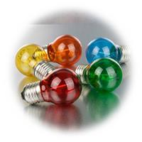 LED Glühbirnen gut geeignet für Partylichterketten