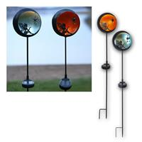 LED solar bar Fairyta | LED Deco Lamp amber / blue | IP44