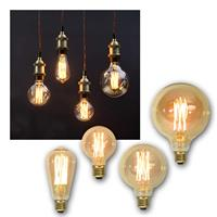 LED bulb E27 VINTAGE filament| E27 retro light bulb dimmable