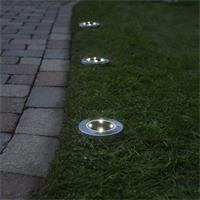 LED Solarleuchten Set für Einfahrten und Parkplätze