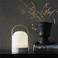 Warmweiß-leuchtende LED Dekolampe LETTE mit Batteriebetrieb
