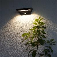 "LED Solarleuchte ""Wally"" zur Wandmontage"