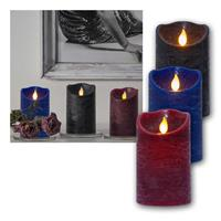 LED Wax Candle M-Twinkle | LED pillar candles with timer
