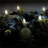 Kabellose Weihnachtsbaum-Kerzen mit Fernbedienung