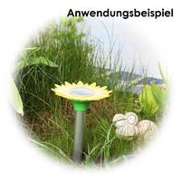 Solarbetriebene Maulwurfschreck, sicheren Schutz für Ihre Pflanzen