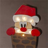 LED Dekoleuchte mit warmweißen LEDs, Batteriebetrieb