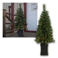 LED Christmas tree Hytte | with fairy lights and transformer