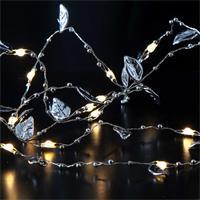 Lichterkette, Tautropfen, Timer, Hochzeitsdekoration, LED