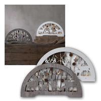 LED Dekoleuchter Fauna | LED Schwibbogen aus Holz | IP20