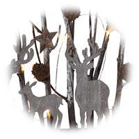 LED Lichterbogen mit Motiven aus Fauna und Flora