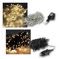 LED-Lichterkette für Außen | 40/100/200/400/600 LEDs | 230V