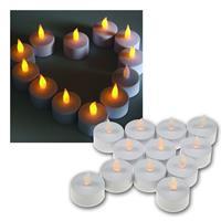 LED Teelichter Sets weiß | Teelicht elektrisch | Dekolicht