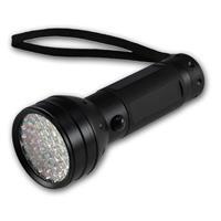 LED-Taschenlampe,51 UV LEDs, spritzwassergeschützt