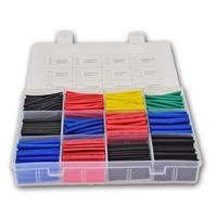 Shrink tubing set 2:1 | 750 pieces in PE box | colorful
