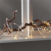 LED Lichtschlauch Tuby 5m, transparent, Timer