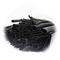Schrumpfschlauch-Sortiment 200-teilig schwarz/rot
