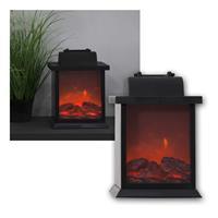 Lantern Fireplace | LED table fireplace | moving flame optic