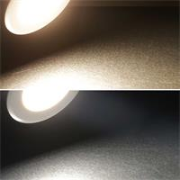 LED Einbauleuchte EBL-HV65 in 2 Lichtfarben