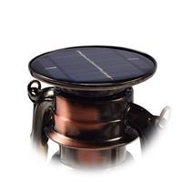 LED Solarlaterne, Tragegriff mit Aufhängemöglichkeit