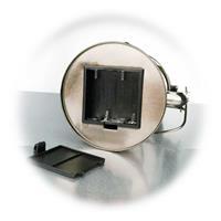 LED Campinglicht mit Metallgehäuse, Batteriebetrieb