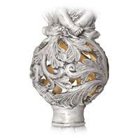 Ornamentenkugel, Grabschmuck, LED Solar Engel