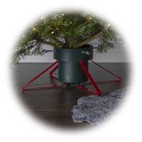 Christbaumständer Granig, grün/rot, mit 4 Zentrierschrauben