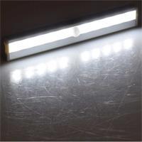 LED Batterieleiuhcte mit PIR Bewegungsmelder, neutralweiß