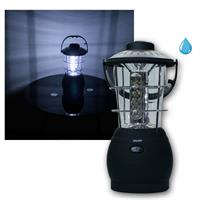 LED camping and garden lantern with 36 LEDs