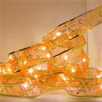 LED Leuchtband in gold mit Motiven, LED Lichterkette mit 30LEDs